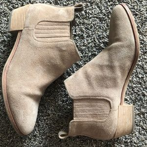 Michael Kors suede ankle booties
